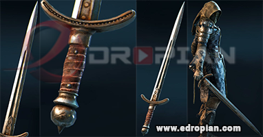 Atolm-Hilt--Atolm-Blade-Atolm-Sword-Heroic-Weapon-Set-For-Peacekeeper-in-For-Honor