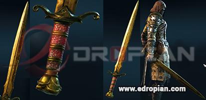 Craymen-Hilt--Craymen-Blade-Craymen-Sword-Heroic-Weapon-Set-For-Peacekeeper-in-For-Honor