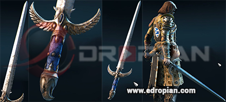 Eveanne-Hilt--Eveanne-Blade-Eveanne-Sword-Heroic-Weapon-Set-For-Peacekeeper-in-For-Honor