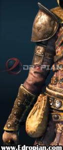 Freska-Heroic-End-Gear-Armor-Right-Arm---For-Honor---Edropian