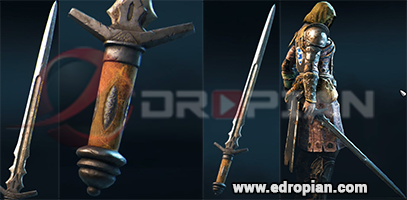 Guron-Hilt--Guron-Blade-Guron-Sword-Heroic-Weapon-Set-For-Peacekeeper-in-For-Honor