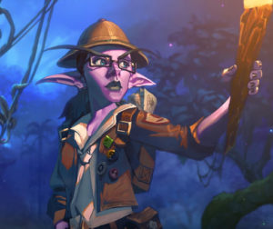 Hearthstone New Expansion Journey to Un'Goro New Elise Starseeker