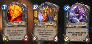 Hearthstone New Expansion Journey to Un'Goro New minion family Elemental Cards 4
