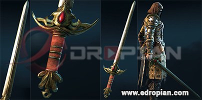 Hilord-Hilt--Hilord-Blade-Hilord-Sword-Heroic-Weapon-Set-For-Peacekeeper-in-For-Honor