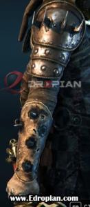 Iseldis-Heroic-End-Gear-Armor-Set-Right-Arm---For-Honor---Edropian