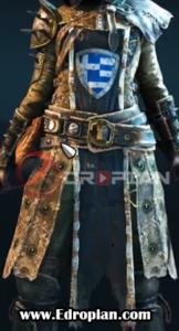 Kinett-Peacekeeper-Heroic-End-Gear-Armor-Set-Chest---For-Honor---Edropian