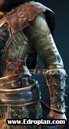 Kinett-Peacekeeper-Heroic-End-Gear-Armor-Set-Left-Arm---For-Honor---Edropian
