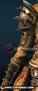 Kinett-Peacekeeper-Heroic-End-Gear-Armor-Set-Right-Arm---For-Honor---Edropian