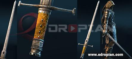 Leome-Hilt--Leome-Blade-Leome-Sword-Heroic-Weapon-Set-For-Peacekeeper-in-For-Honor