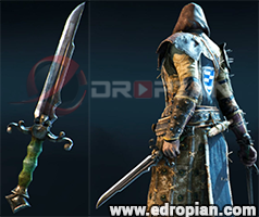 Marcellis-Dagger-Heroic-Weapon-Set-For-Peacekeeper-in-For-Honor
