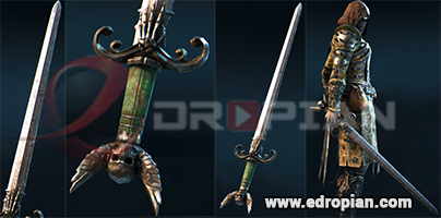Marcellis-Hilt--Marcellis-Blade-Marcellis-Sword-Heroic-Weapon-Set-For-Peacekeeper-in-For-Honor