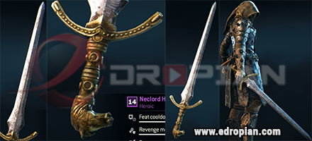 Neclord-Hilt-Neclord-Blade-Neclord-Sword-Heroic-Weapon-Set-For-Peacekeeper-in-For-Honor