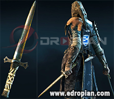 Randal-Dagger-Heroic-Weapon-Set-For-Peacekeeper-in-For-Honor
