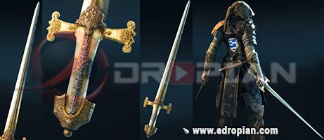 Randal-Hilt-Randal-Blade-Randal-Sword-Heroic-Weapon-Set-For-Peacekeeper-in-For-Honor