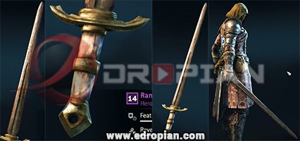Rantia-Hilt-Randia-Blade-Rantia-Sword-Heroic-Weapon-Set-For-Peacekeeper-in-For-Honor