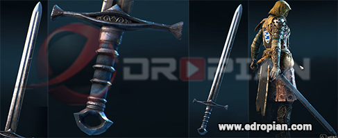 Rifanny-Hilt--Rifanny-Blade-Rifanny-Sword-Heroic-Weapon-Set-For-Peacekeeper-in-For-Honor
