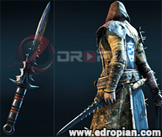 Slayton-Dagger-Heroic-Weapon-Set-For-Peacekeeper-in-For-Honor