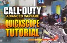 Call Of Duty Advanced Warfare Quickscope Tutorial! Hell Yeah!