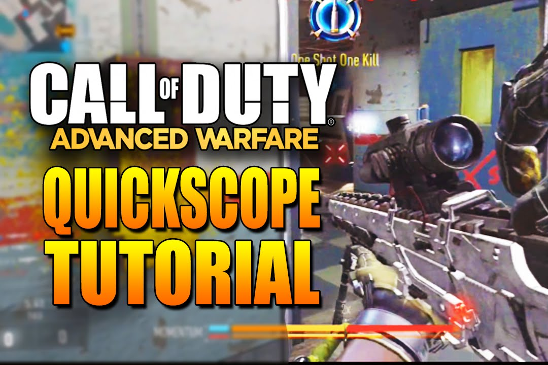 How to quick scope in infinite warfare like a pro! (tutorial.