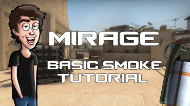 CS:GO How To Use Smoke Granades In Mirage!