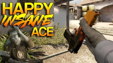 CS:GO Insane Ace? Better Watch This One By Happy!