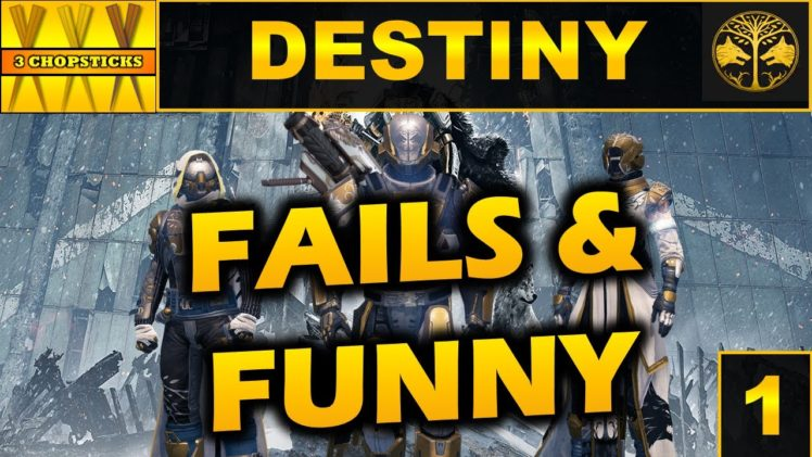 Destiny fails and funny moments- 3CS