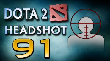 Dota 2 Snipe Shots compilation
