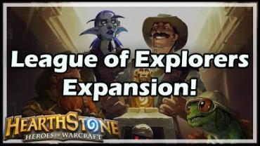 HS New Cards Review League of Explorers Adventure Expansion