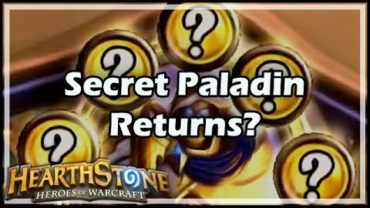 IS Secret Paladin Is Back In HearthStone S26 TOG?