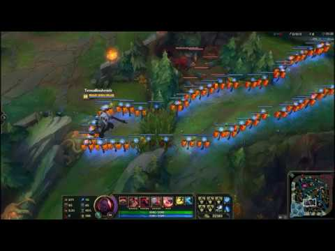 League of Legends Moments: Sion ultimate Drifting