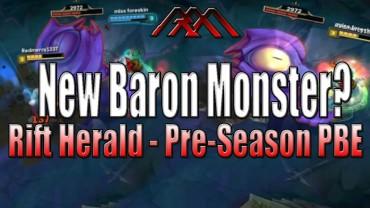 LoL Rift Herald – The Mini Baby Pre Baron Of Season 6?