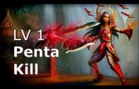 LvL 1 Irelia Pentakill? On Official Diamond Ranked 5v5 Game
