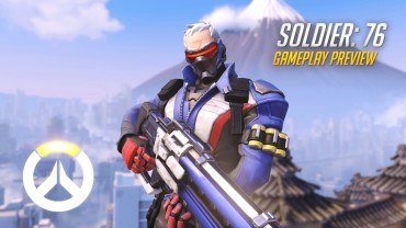 SOLDIER 76 Spotlight OW Abilities Gameplay Overview